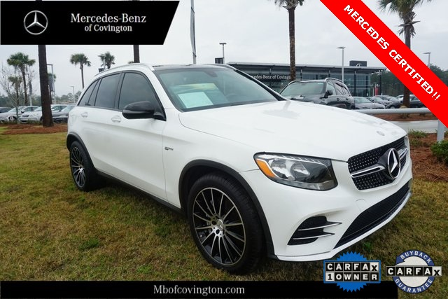 Certified Pre-Owned 2017 Mercedes-Benz GLC GLC 43 AMG®