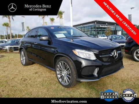 Certified Pre-Owned 2018 Mercedes-Benz GLE GLE 43 AMG® Coupe